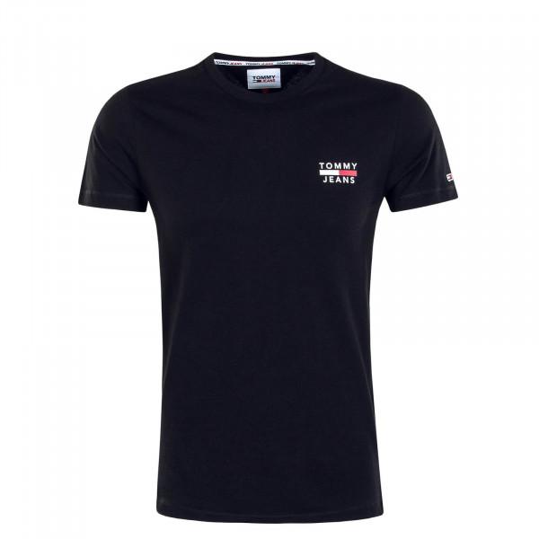 Herren T-Shirt TJM Chest Logo 7472 Tee Black