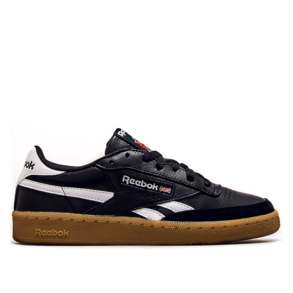 Reebok U Revenge Plus Gum Black White
