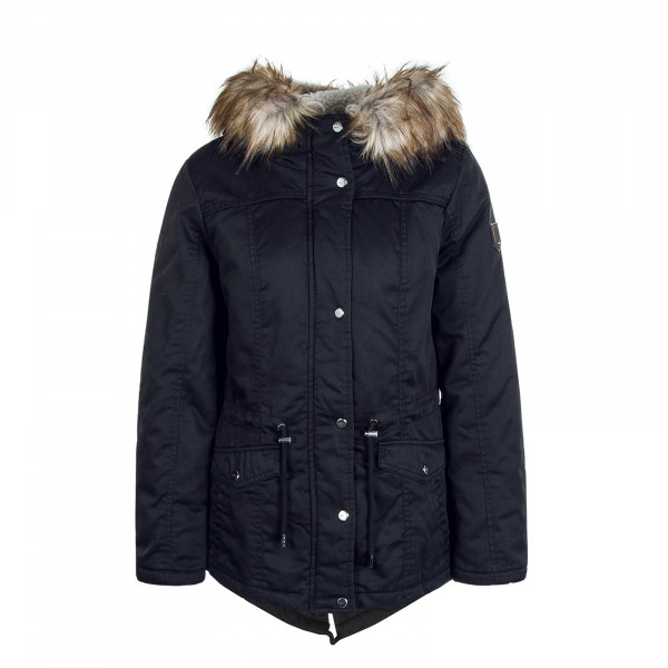 Damen Canvas Parka Katie Black