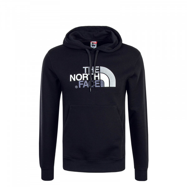 Herren Hoody Drew Peak Black Grey