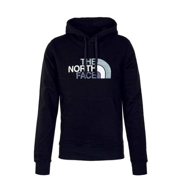Northface Hoody Drew Peak Black Grey