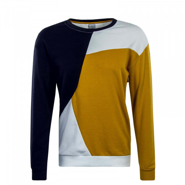 Sublevel Sweat 21060A Navy Yellow White