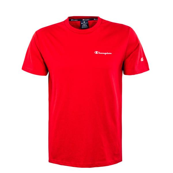 Herren T-Shirt - Crewneck - Red