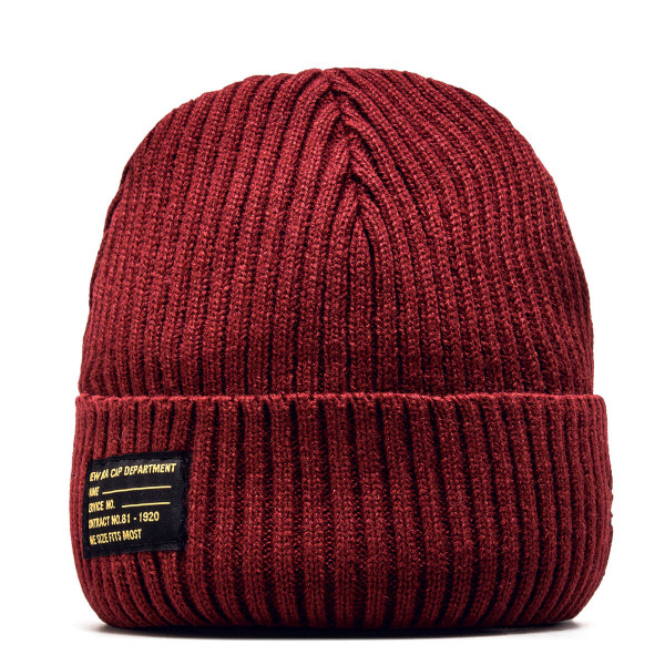 New Era Beanie Watch Knit Maroon