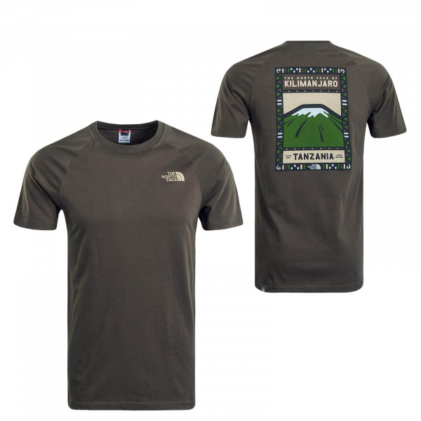 Herren T-Shirt NORTH FACE Olive