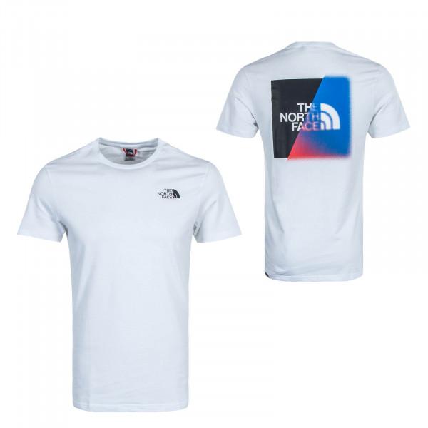 Herren T-Shirt GLS BD White Black
