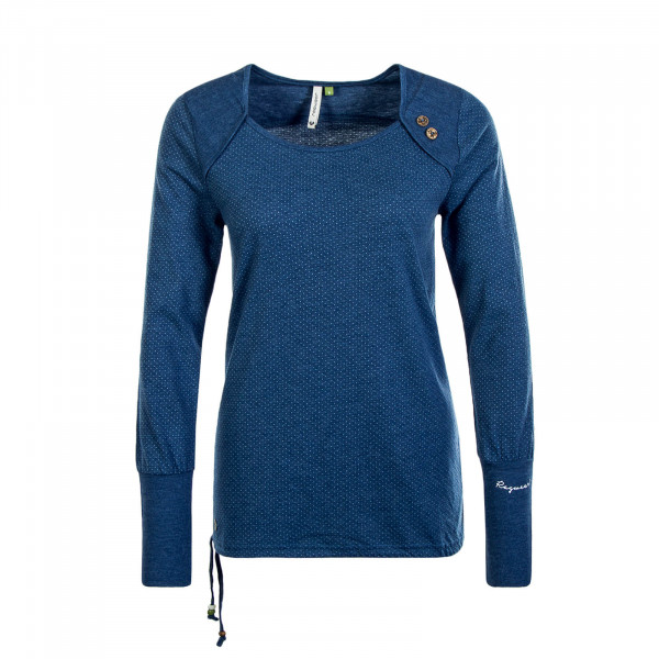 Damen Longsleeve Mike Organic Blue