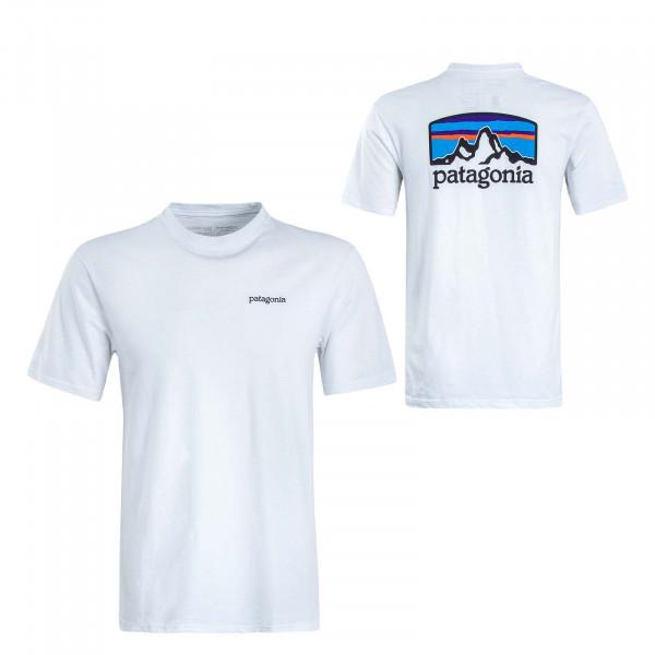 Herren T-Shirt Fitz Roy White