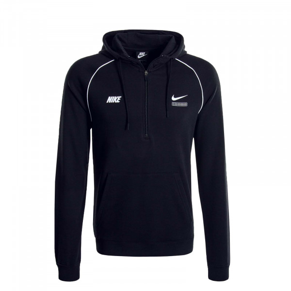 Herren Hoody DNA 1344 Black White