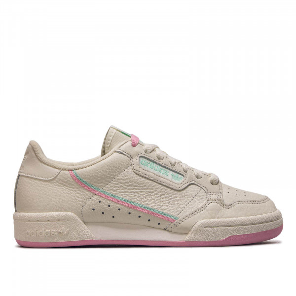 Damen Sneaker Continental Beige Rosa Mint
