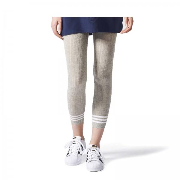 Adidas Wmn Leggings Tight 3 Stripes Grey