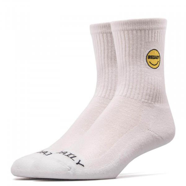 Iriedaily Socks Daily Smile White