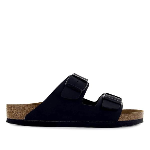 Herren Sandale - Arizona - Black / Normale Weite