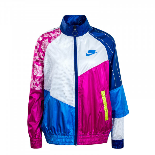 Damen Jacke NSW NSP TRK White Blue Pink