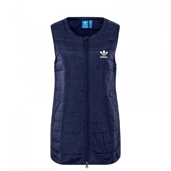 Damen Weste BG Long Navy