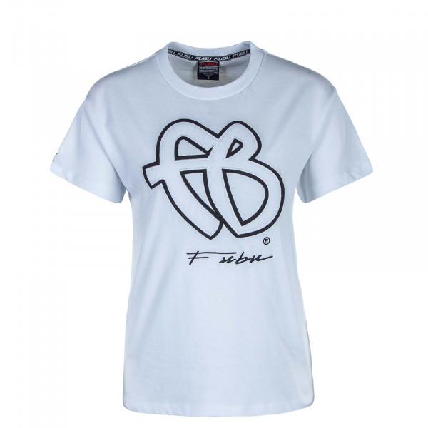 Damen T-Shirt Classic 32006 White Black