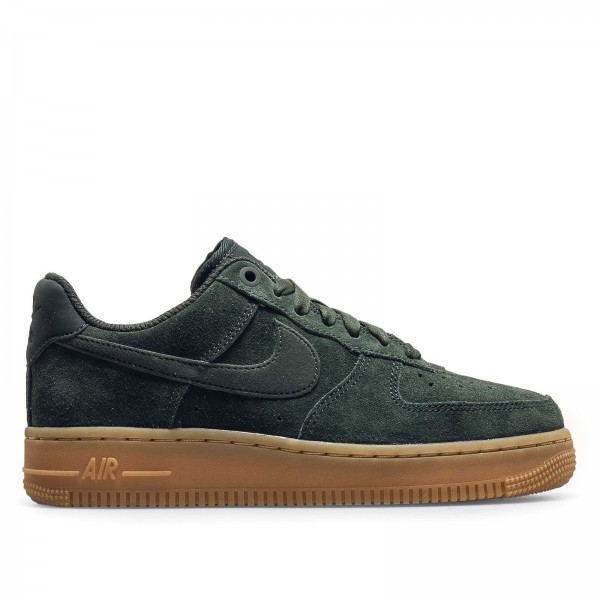 Nike Wmn Air Force 1 '07 SE Green Brown