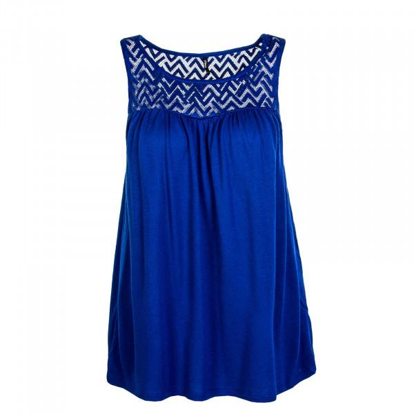 Damen-Top New Nicole Life S/L JRS Mazarine Blue