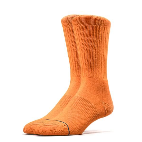Stance Socks Uncommon Solids Icon Orange