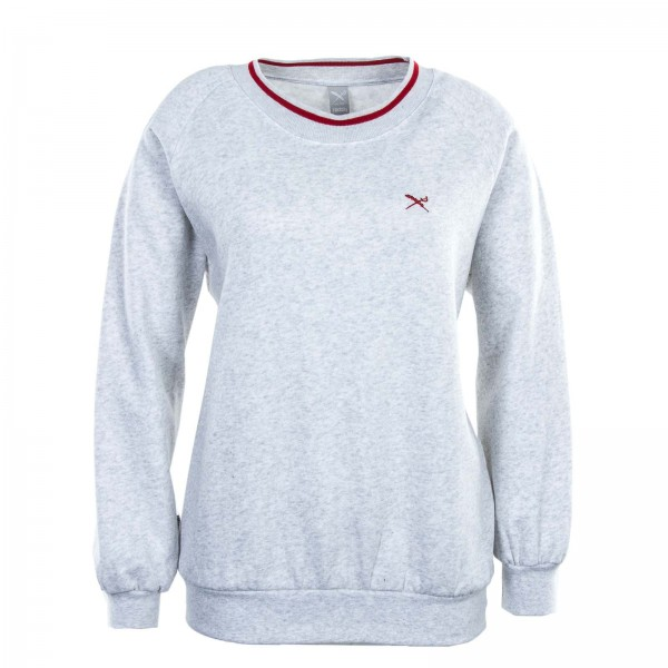 Iriedaily Wmn Sweat G Flag Lt Grey