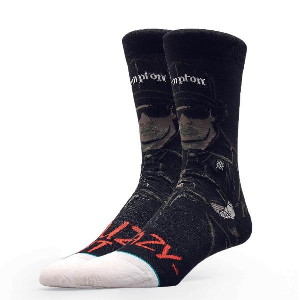 Stance Socks Anthem Eazy Duz It Black