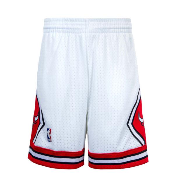 Herren Short - M&N NBA Swingman Short 2,0 Chi Bull - White