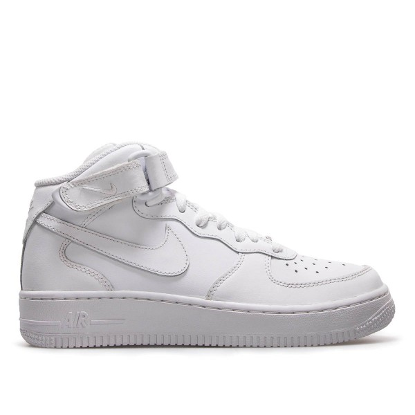 Nike U Air Force 1 Mid 07 Wht Wht