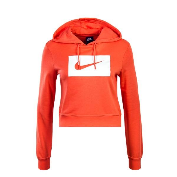 Nike Wmn Hoody NSW Coral White