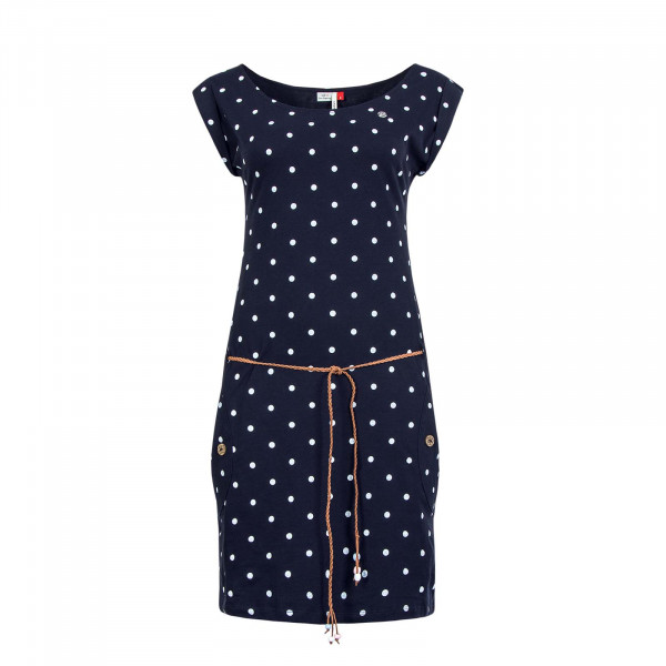 Kleid Tag Dots Navy