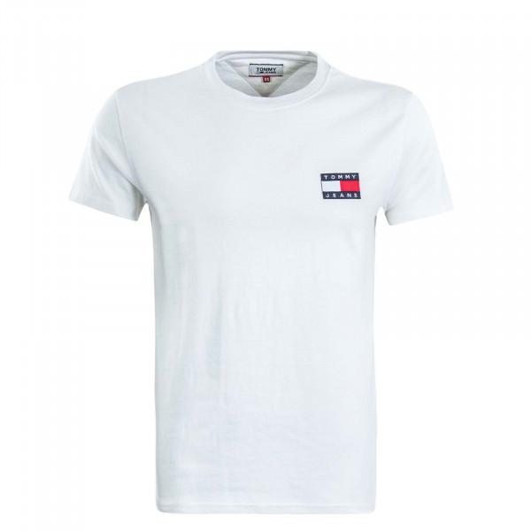 Herren T-Shirt  TJM Badge White