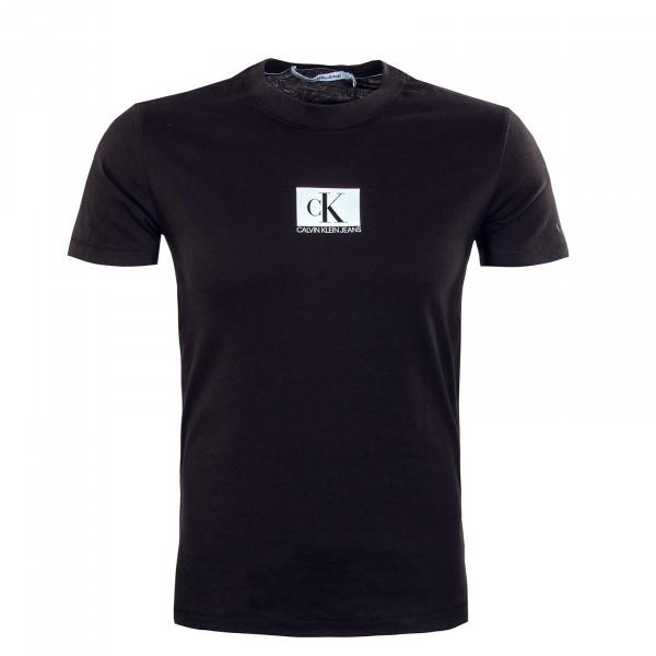 Herren T-Shirt - Small Centre Chest - Black