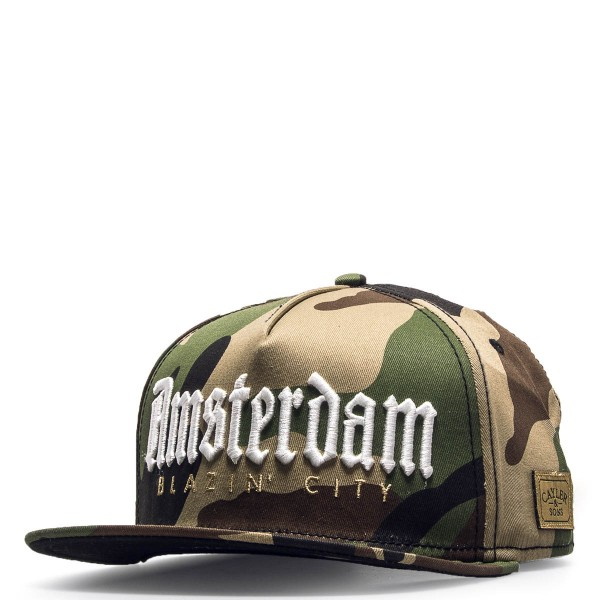 Cayler&Sons Cap Amsterdam Olive Camo