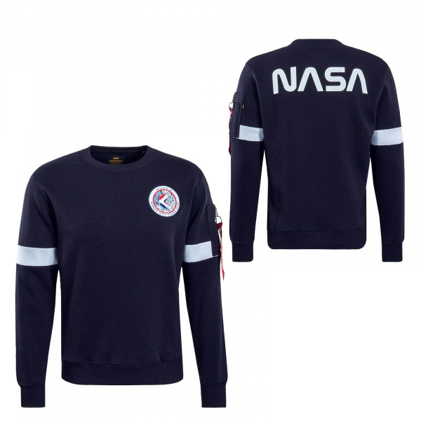 Herren Sweatshirt Apollo 15 Navy