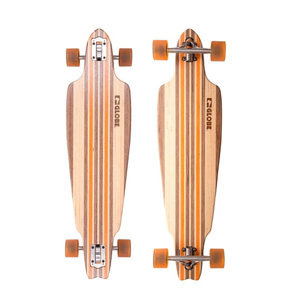 Globe Skateboard Prowler Beige Orange