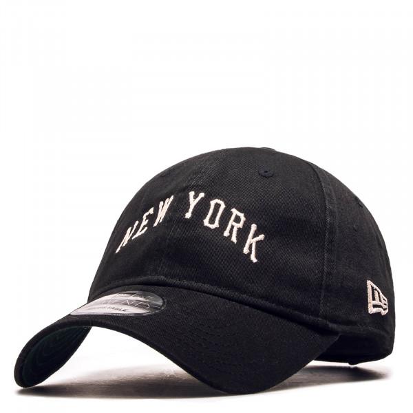 Cap 9 Twenty Vintage NY Black