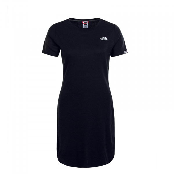 Damen Kleid Simple Dome Black