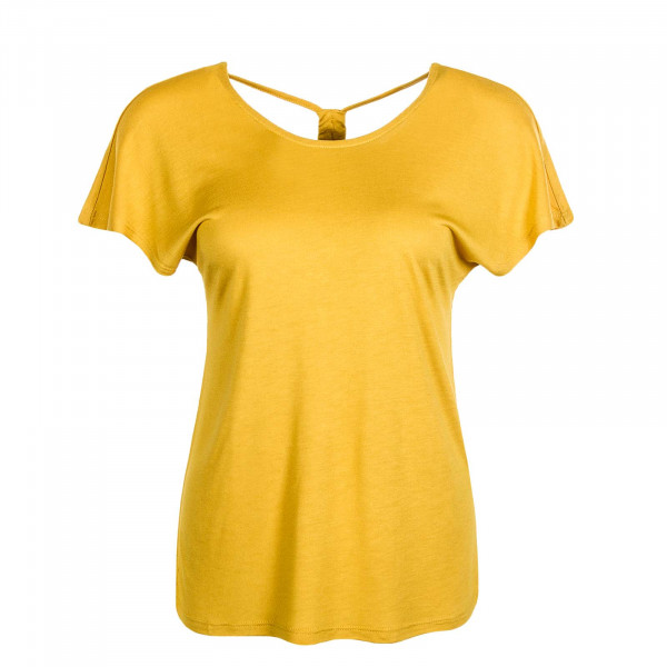 Damen Cross Back Top Carrie S/S Golden Spice