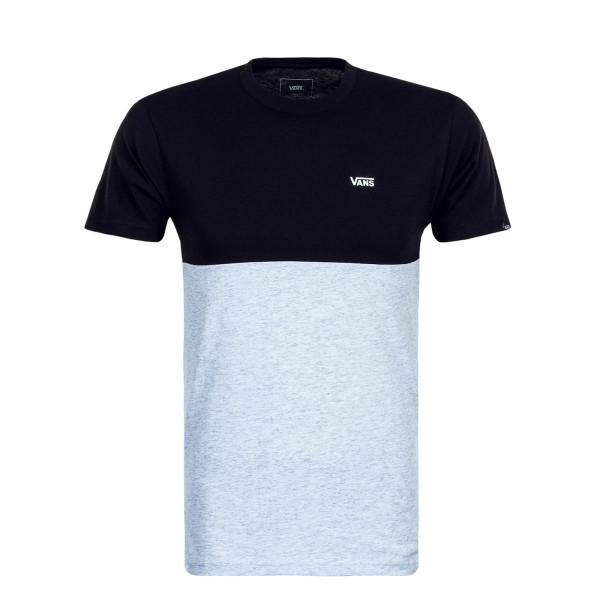 Herren T-Shirt Colorblock Black Grey