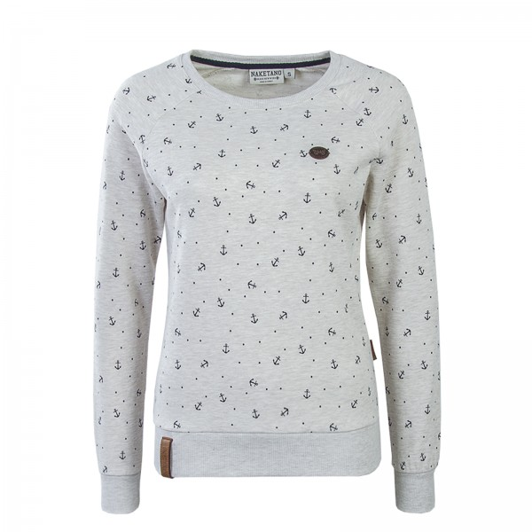 Naketano Wmn Sweat Abusainek Anchor Beige