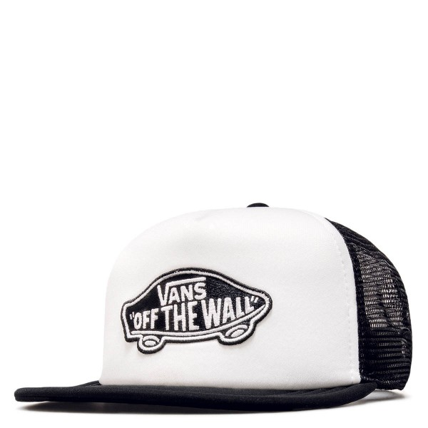 Vans Cap Classic Patch White Black