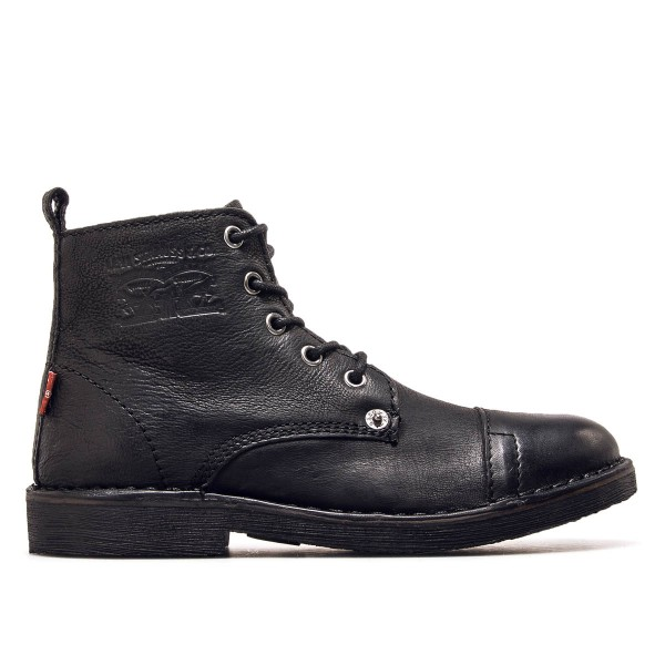 Levis Wmn Boot Track S Lth Black