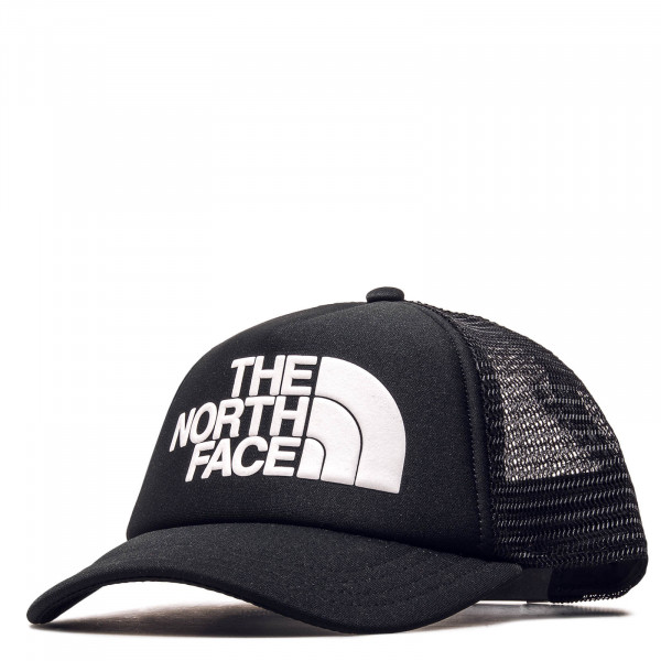 Trucker-Cap Youth Logo Black White