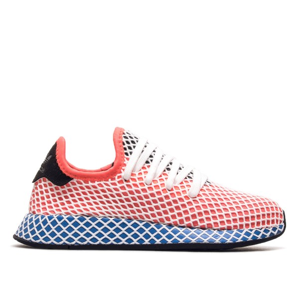 Adidas U Deerupt Runner Red Blue Black