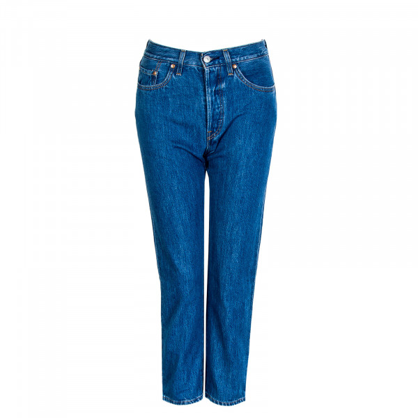 Damen Jeans 501 Crop Sansome Breeze Stone
