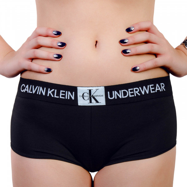 CK Wmn Boyshort Black