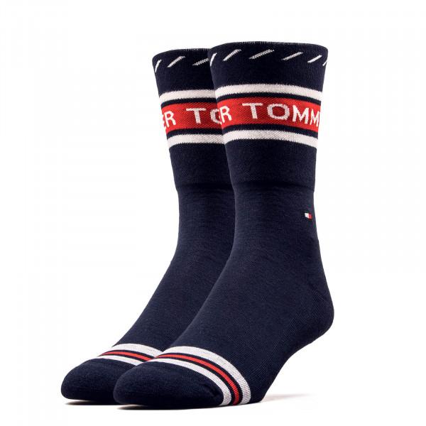 Damen Socken 493010001 Logo Navy