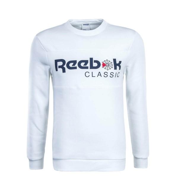 Reebok Sweat Iconic Crewneck White