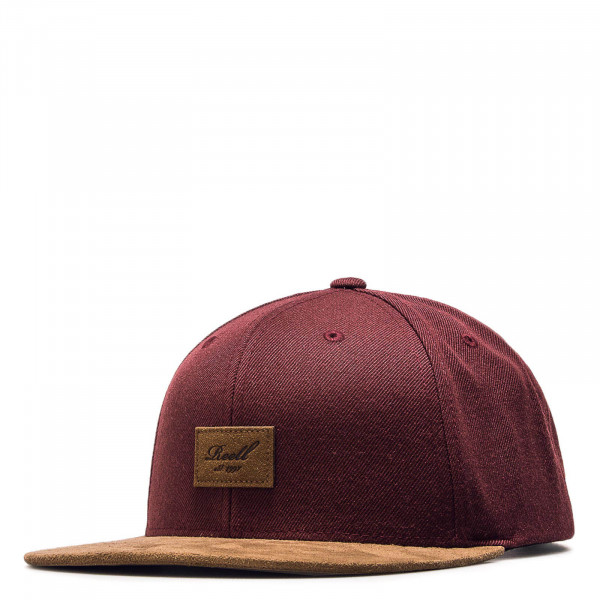 Cap Suede Maroon Brown