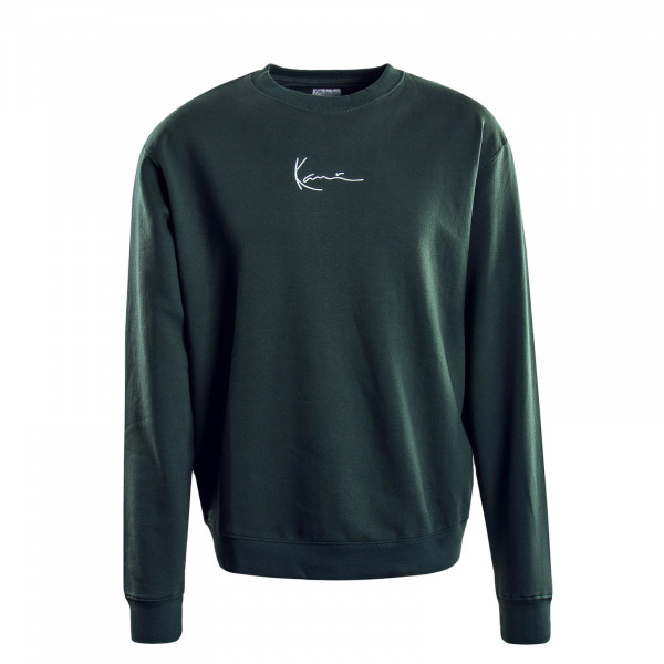 Herren-Sweatshirt Signature Green White