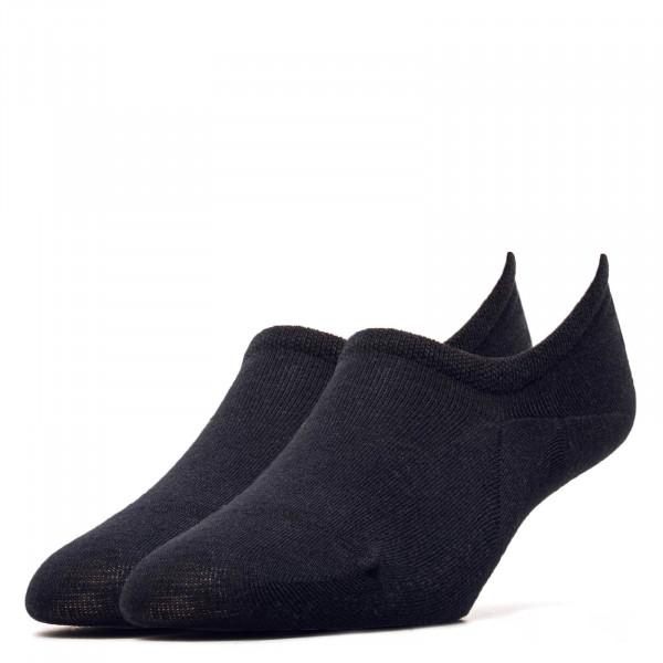 2er-Pack Damen Socken Footie Black